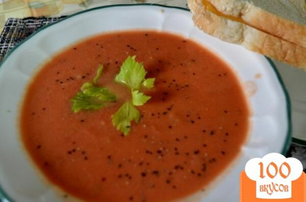 Фото рецепта: «Быстрый томатный суп»