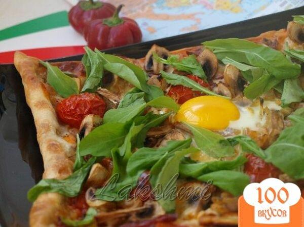 """Фото рецепта: «Пицца """"Мама Браво""""»"""