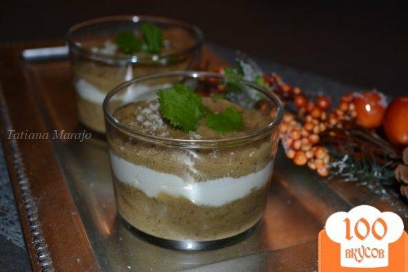 Фото рецепта: «Мусс из баклажан со сливками»
