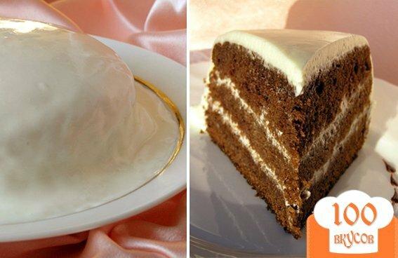 Фото рецепта: «Торт Черный принц»