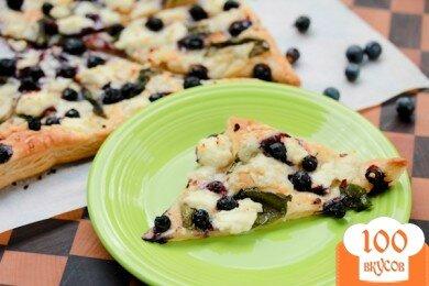 Фото рецепта: «Пицца с черникой»