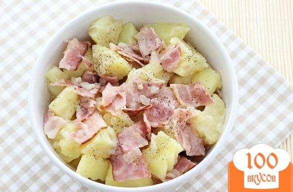 Фото рецепта: «Салат из картофеля без майонеза»