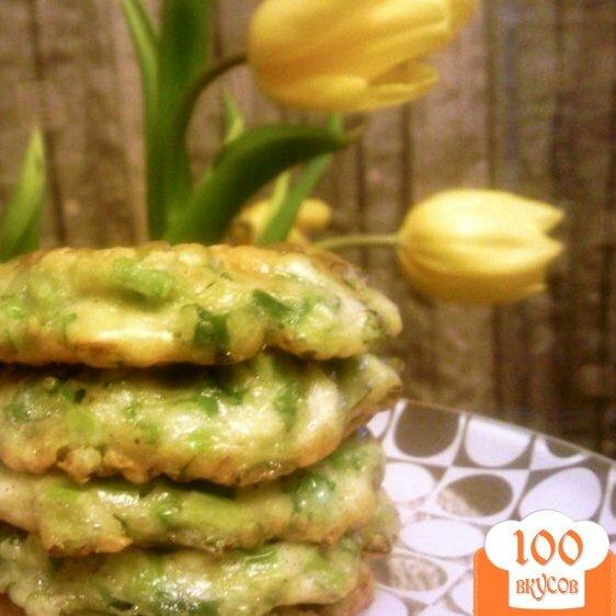 Фото рецепта: «Оладьи из зеленого лука»