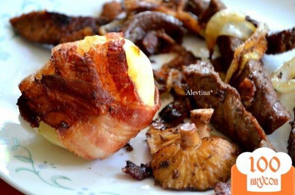 Фото рецепта: «Беконовый ужин»