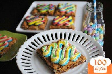 Фото рецепта: «Радужное печенье»