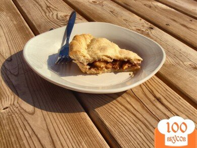Фото рецепта: «Яблочный пирог без сахара»