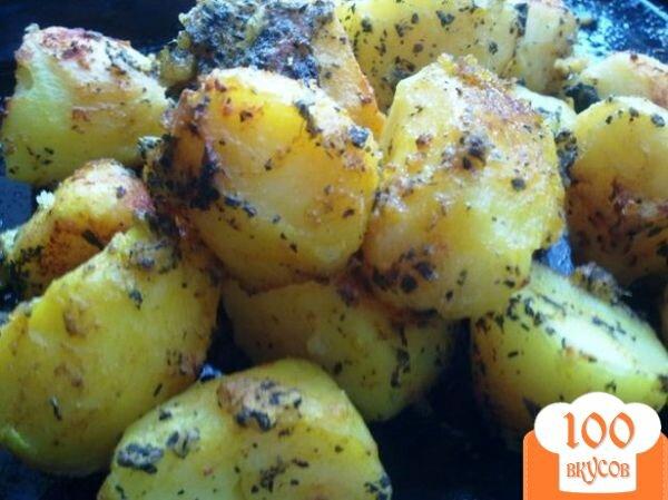 Фото рецепта: «Запеченная, пряная картошка»