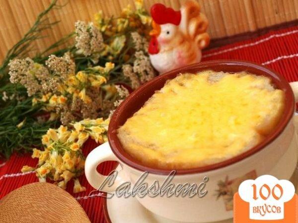 Фото рецепта: «Томатный суп с сырной корочкой»
