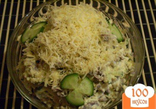 Фото рецепта: «Салат из куриных желудков»