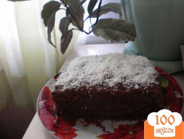 Фото рецепта: «Торт с вареной сгущенкой»