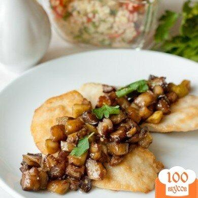 Фото рецепта: «Куриные грудки с овощами и бальзамическим соусом»