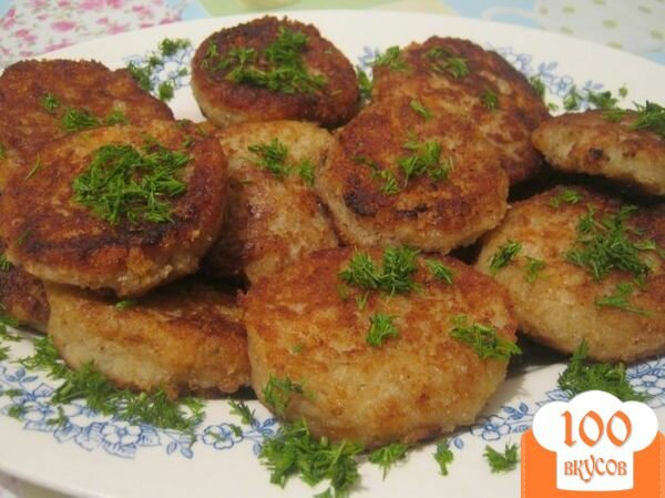 Фото рецепта: «Рыбно-картофельные котлеты»