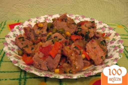 Фото рецепта: «Мясо по-мексикански»