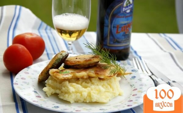 Фото рецепта: «Кляр баварский для рыбы и/или овощей»