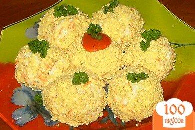 Фото рецепта: «Сырные шарики с сюрпризом»
