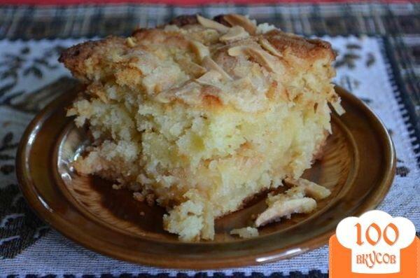 Фото рецепта: «Кокосово-миндальный кекс»