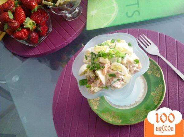 Фото рецепта: «Мясной салат с хреном»