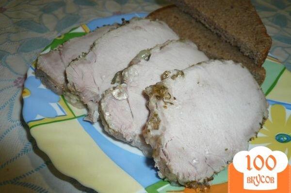 Фото рецепта: «Свинина с бальзамическим уксусом»