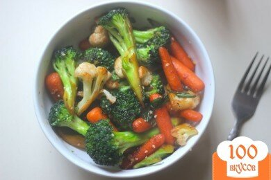 Фото рецепта: «Тушеные овощи»