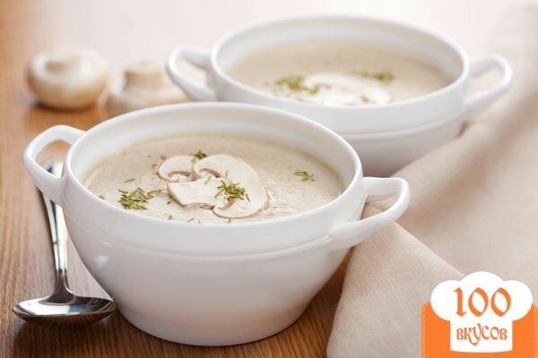 Фото рецепта: «Грибной суп-пюре из шампиньонов»