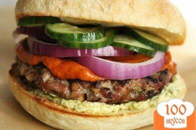 Фото рецепта: «Бургеры с бараниной»