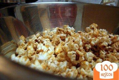 Фото рецепта: «Домашний карамельный попкорн»