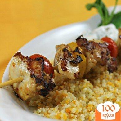 Фото рецепта: «Пряные Марокканские куриные шашлыки»