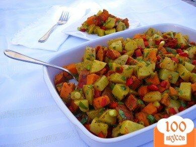 Фото рецепта: «Индийский картофельный салат»