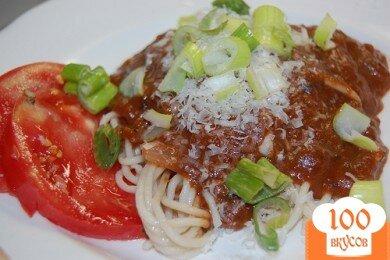 Фото рецепта: «Соус для пасты с оливками»