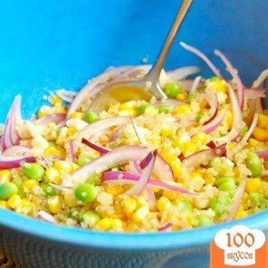 Фото рецепта: «Салат с киноа и кукурузой»