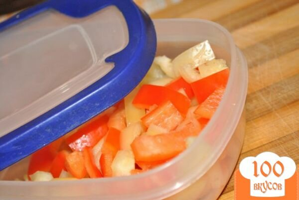 Фото рецепта: «Перец замороженный»