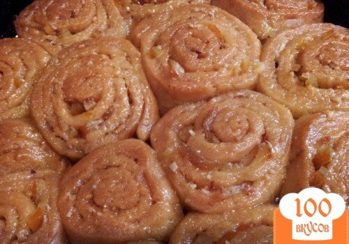 """Фото рецепта: «Апельсиновый пирог """"Розочки""""»"""