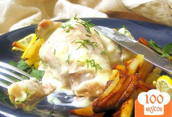 Фото рецепта: «Курица в сырном соусе»