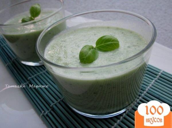 Фото рецепта: «Огуречный холодный суп»