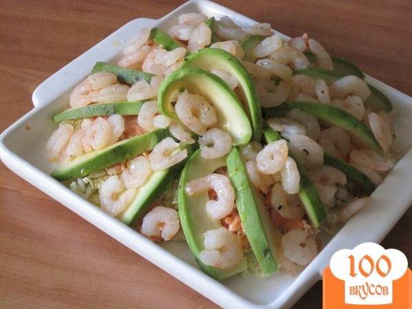 Фото рецепта: «Нежный салат «Заморский»»