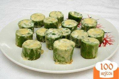 Фото рецепта: «Бочонки из кабачков»