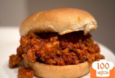 Фото рецепта: «Сэндвич с говядиной»
