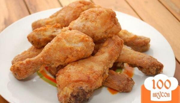 Фото рецепта: «Куриные ножки в кляре»