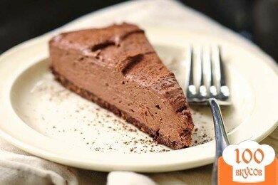 Фото рецепта: «Шоколадный чизкейк»