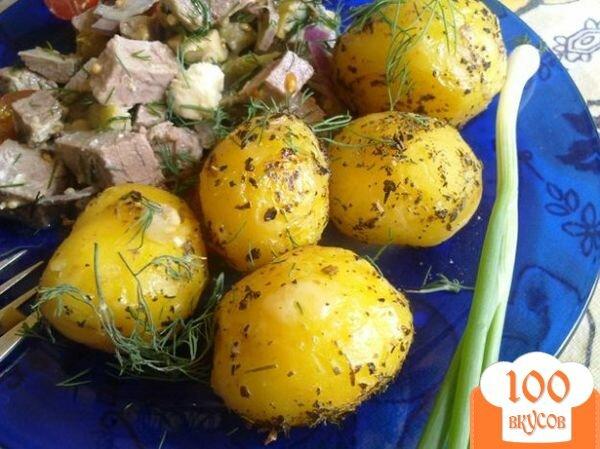 Фото рецепта: «Картофель с базиликом»