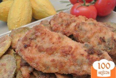 Фото рецепта: «Куриные грудки с базиликом»