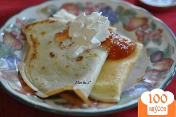 Фото рецепта: «Завтрак с блинами»