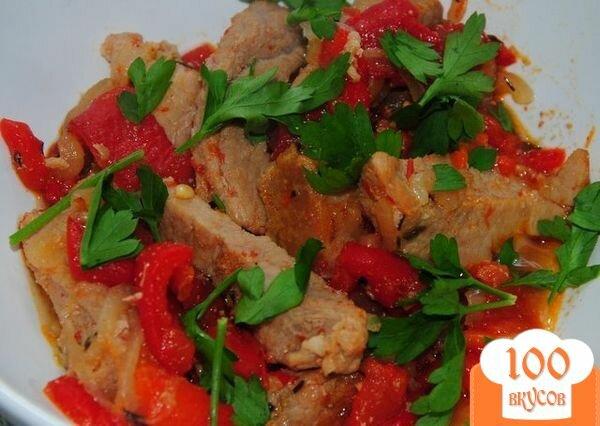 Фото рецепта: «Каварма по-болгарски»