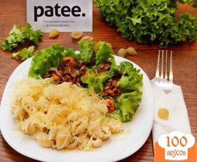 Фото рецепта: «Паста с креветками»