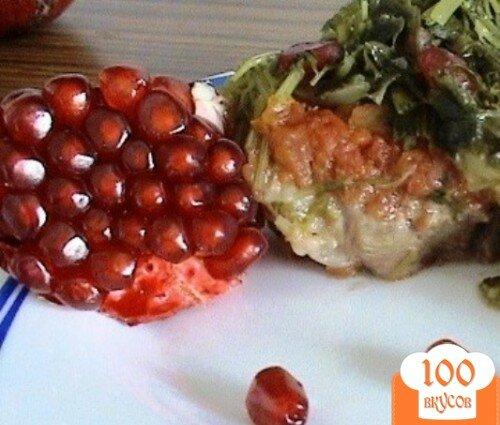 Фото рецепта: «Вкусный тандем - мясо с гранатом»