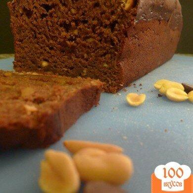 Фото рецепта: «Шоколадно-банановый хлеб»