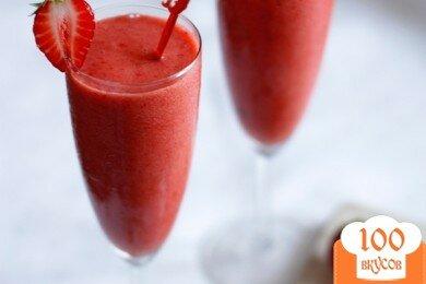 Фото рецепта: «Клубничный коктейль»