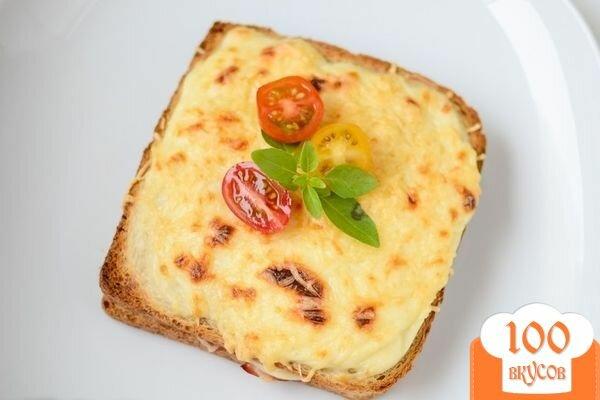 """Фото рецепта: «Французские тосты """"Крок-месье""""»"""