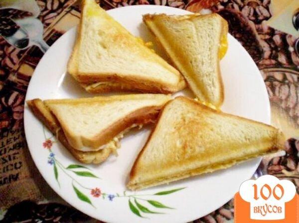Фото рецепта: «Сэндвич с мясным паштетом»