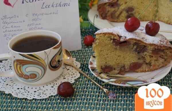 Фото рецепта: «Пирог с черешней»